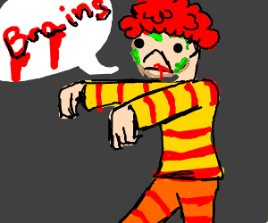 Zombie McDonald