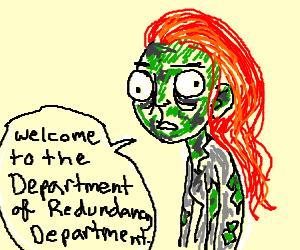 Zombie Ginger (is redundant)