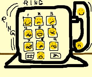 Emoticon Speed Dial