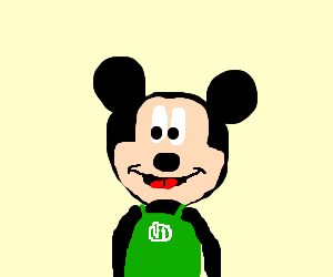 Mickey quits and manages a starbucks