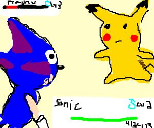 Sonic vs. Pikachu