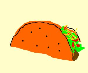 Taco Bell Dorito Taco