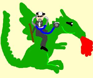 Dr. House rides a dragon