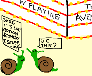 illiterate snails talk about new movie