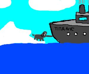 Elephant Saves Titanic