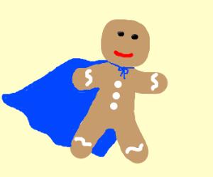 Gingerbread superhero