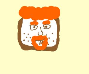super ginger-bread man