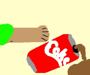 Bullying the coke
