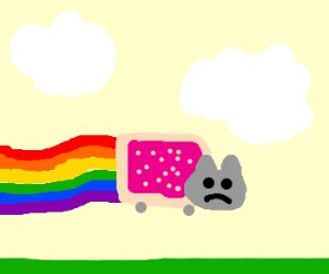 Nyan Cat is sad, because overused at DrC