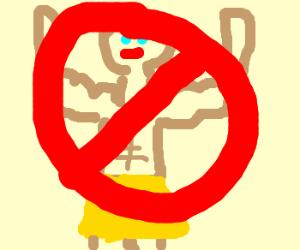 Heroes forbidden here