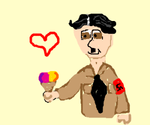 Hitler Loves Two Scoops
