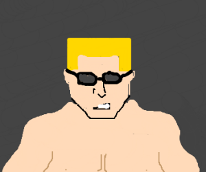 Duke Nukem lost his face