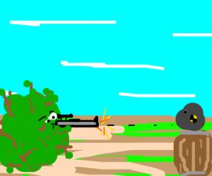 sniper: headshot