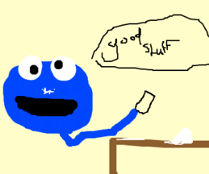 cookie monster loves cocaine