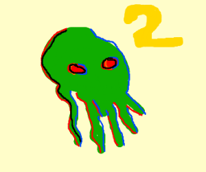 Cthulhu 2: Electric Boogaloo... IN 3D
