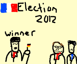 French Election Scandal: German wins
