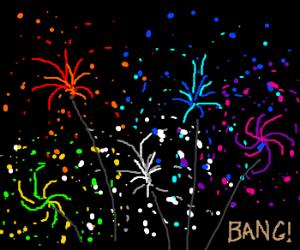 Fireworks, BANG!
