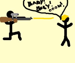 SHOOT JUSTIN BIEBER