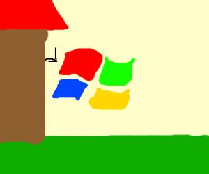 I Bust the Windows on Ya House