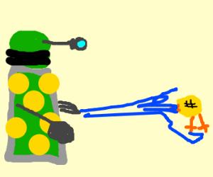 Dalek kills blind canary