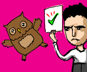 Simon Cowell is fond of Owls
