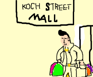 Small-Hair Elvis buys all of Koch Street