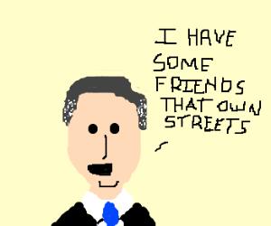 Mitt Romney's Street Cred