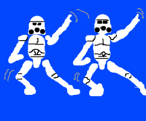 Stormtrooper Shuffle.