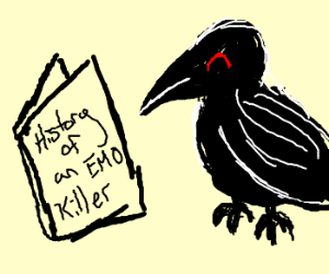 The Crow: History of an emo killer