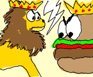 Lion King vs. Burger King