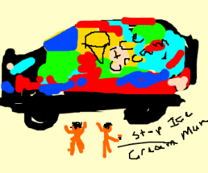 dubstep poppin acidflav icecream truck