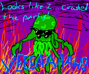 Cthulhu replaces Horatio Caine