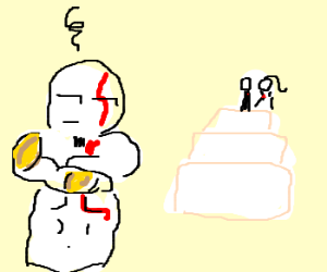 God-O-War Hates Wedding Cake