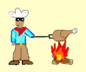 lone ranger cooks turkey