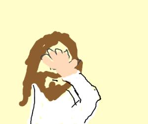 Jesus as Jim Carrey in LiarLiar in court