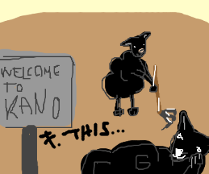 Kano black sheep is tired of working