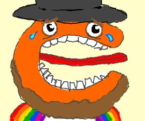 """Rainbow-shirted Amish shame """"C"""""""