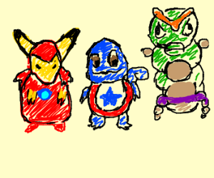 Pokemon as the Avengers