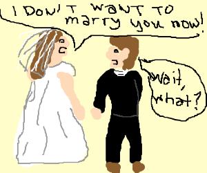 Groom gets rejected by bride on wedding.