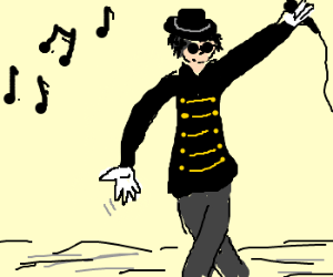 Michael Jackson invites you to dance