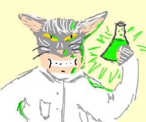 catman scientist discover new element