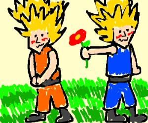 Goku X Vegeta YAOI [Bumpy Ride] - YouTube
