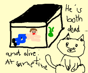 Schrodinger's cat turns the tables