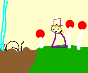 willy wonka watches augustus drown