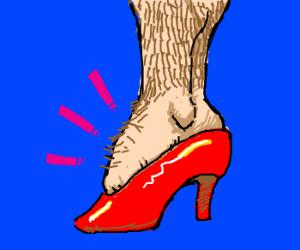 transgender foot