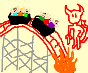 rollercoaster to hell
