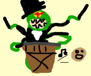 Cthulu in tuxedo drumming *le gasp*