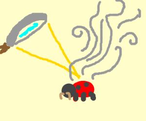 Smoking Bug With A Nice Mustache