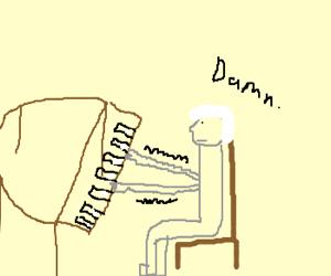 Mozart has Parkinson's :(