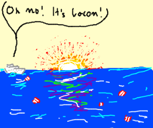 Ocean bacon means the end of the world